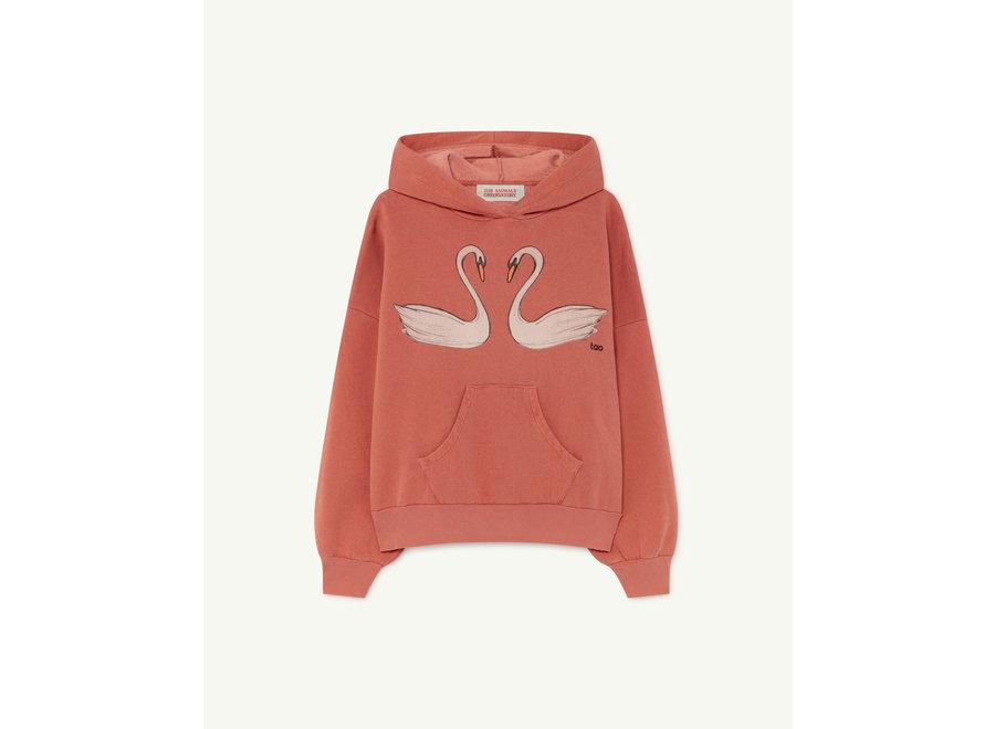 Beaver Kids Sweatshrt Red Swans
