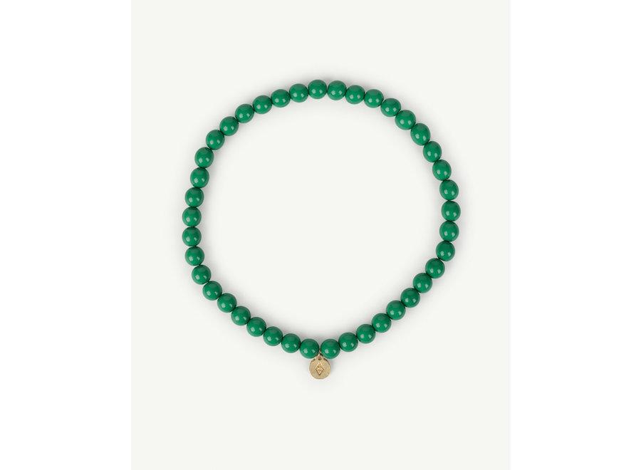 Iguana Necklace Green one size