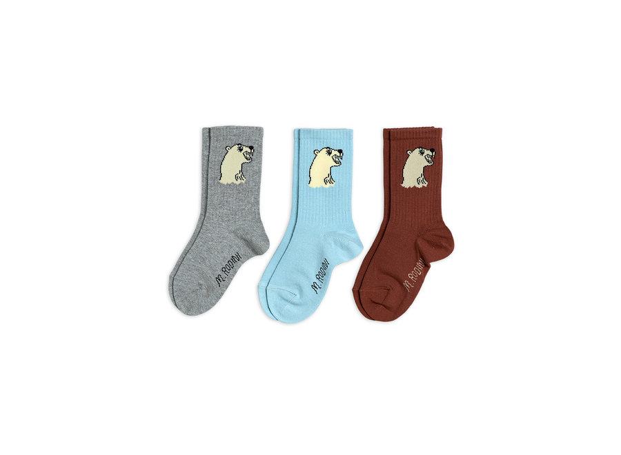 Polar bear socks 3-pack
