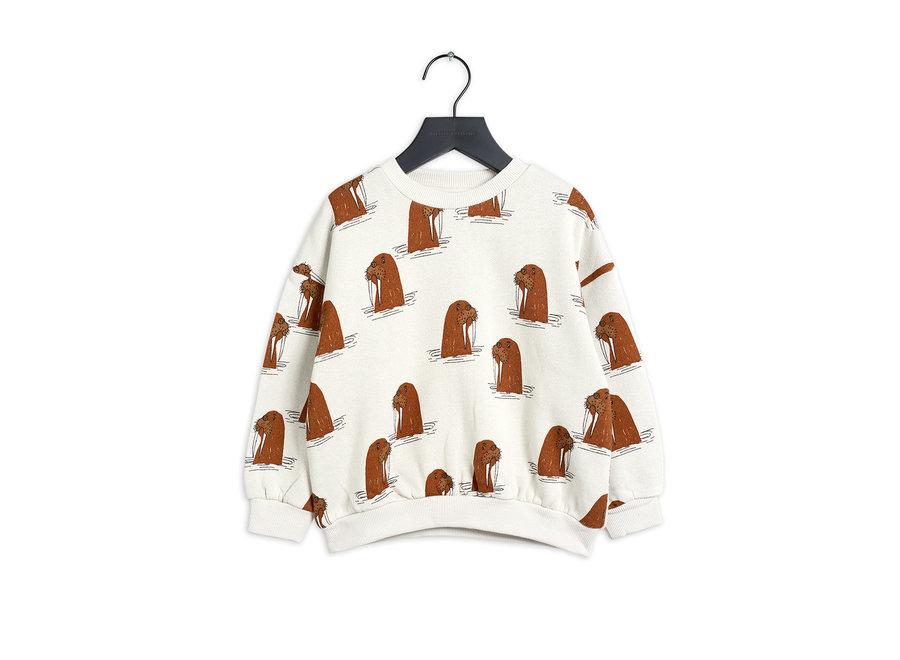 Walrus aop sweatshirt
