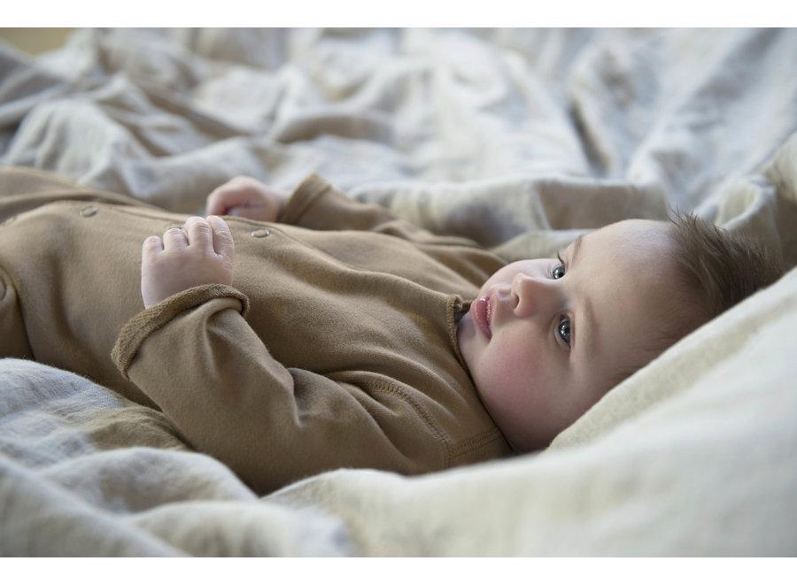 Born onesie Toffee