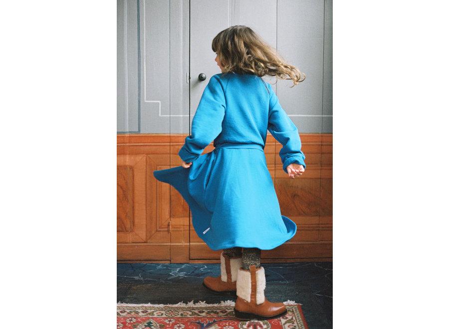 Flamboyant Falcon Fleece Dress