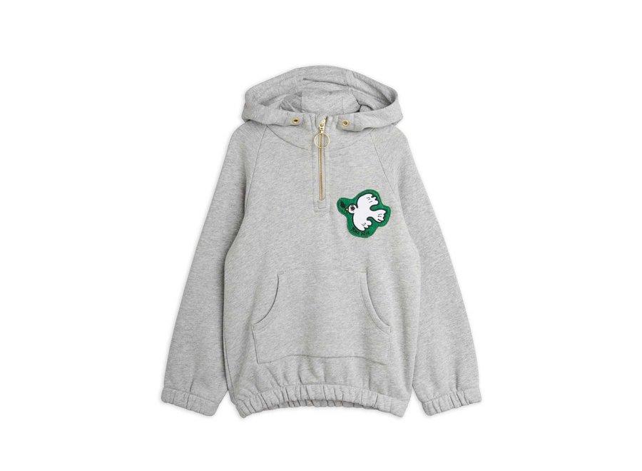 Peace dove half zip hoodie