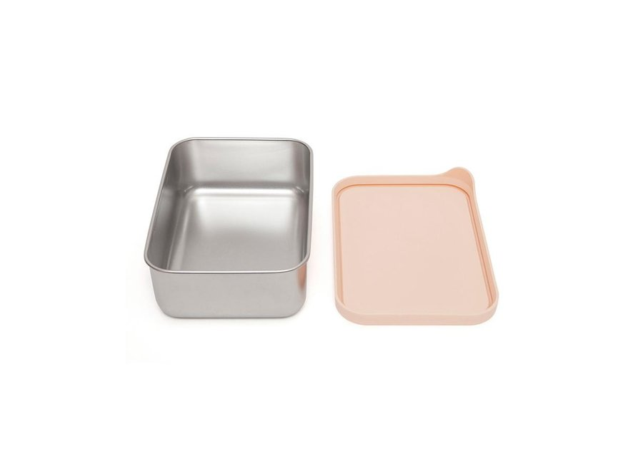 Stainless steel lunchbox Riley dawn rose