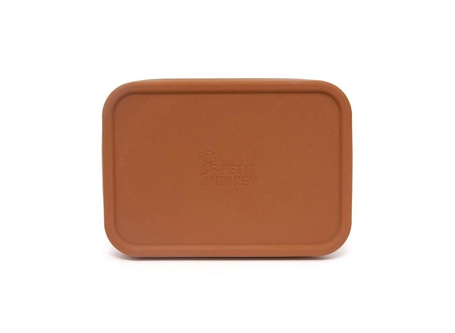 Stainless steel lunchbox Riley baked clay