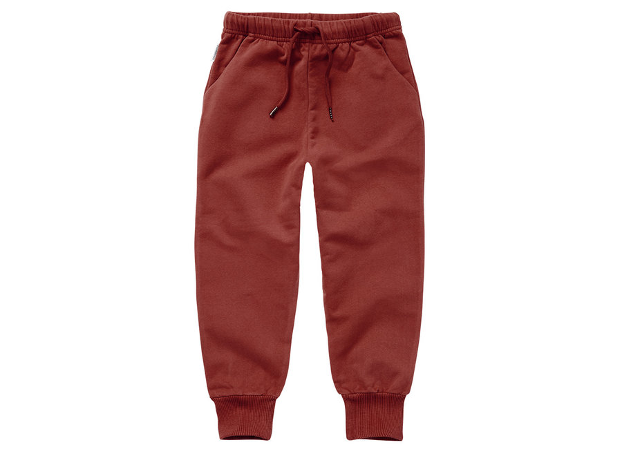 Sweat Pants Brick Red