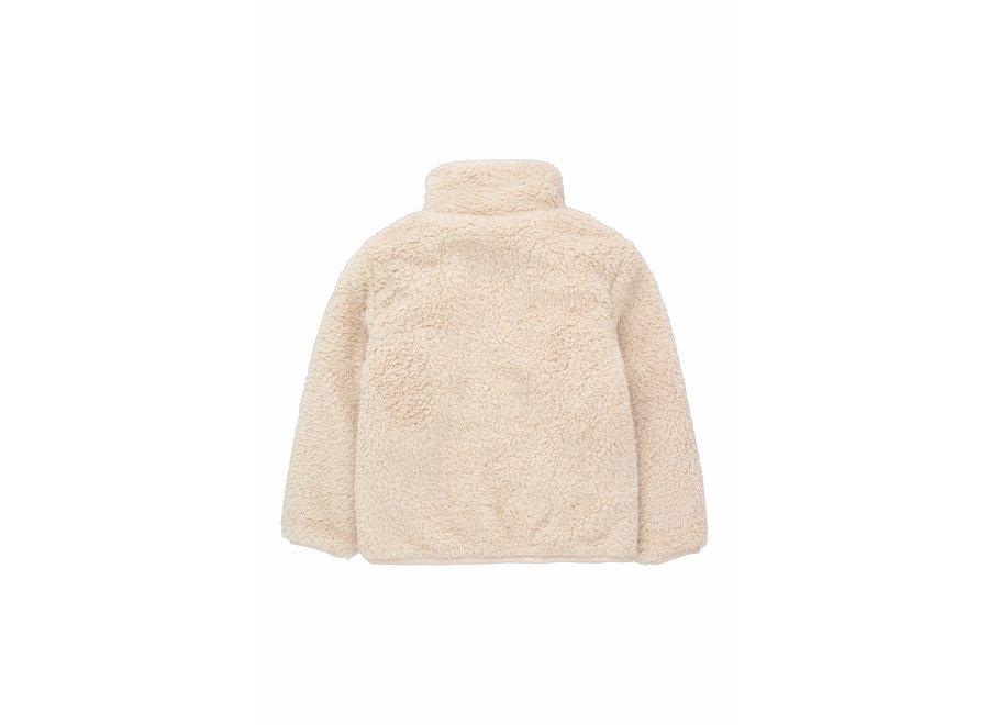 Polar sherpa jacket light cream KID