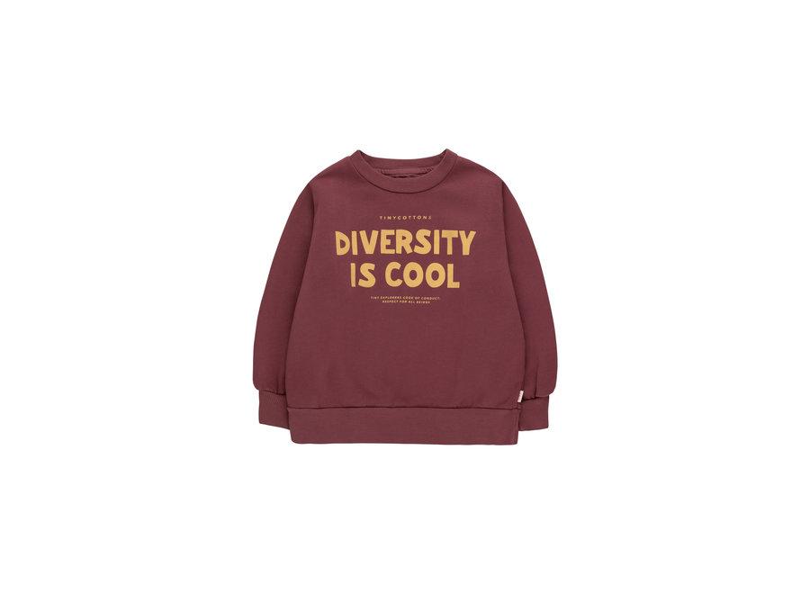 Diversity is cool sweatshirt KID
