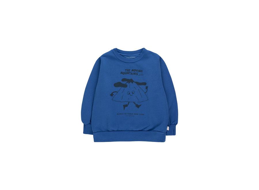 Moving mountains sweatshirt blue KID