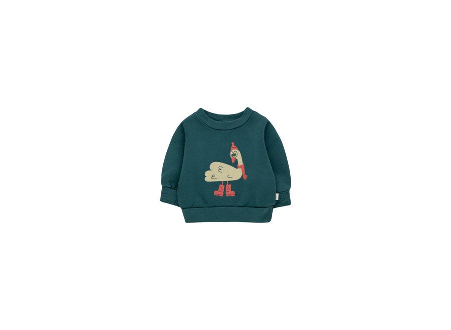 Swan explorer baby sweatshirt