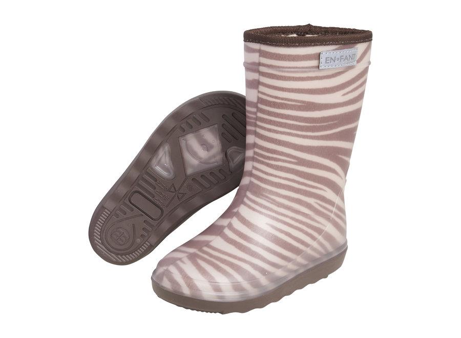 Enfant Thermoboots Zebra WINTER