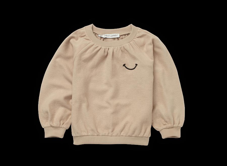 Sweatshirt Loose Smile