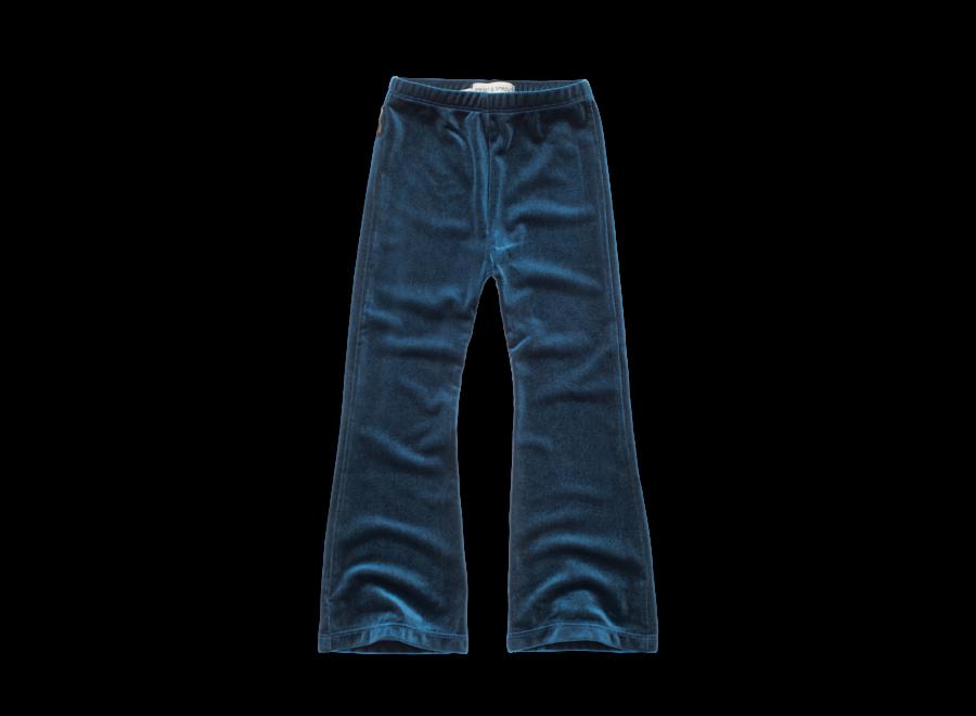 Flared Legging Velvet Blue