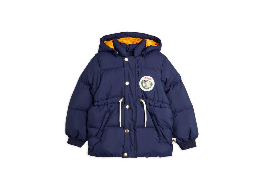 Polar bear patch puffer jacket