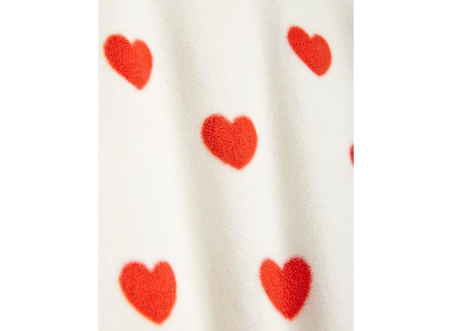 Hearts fleece jacket