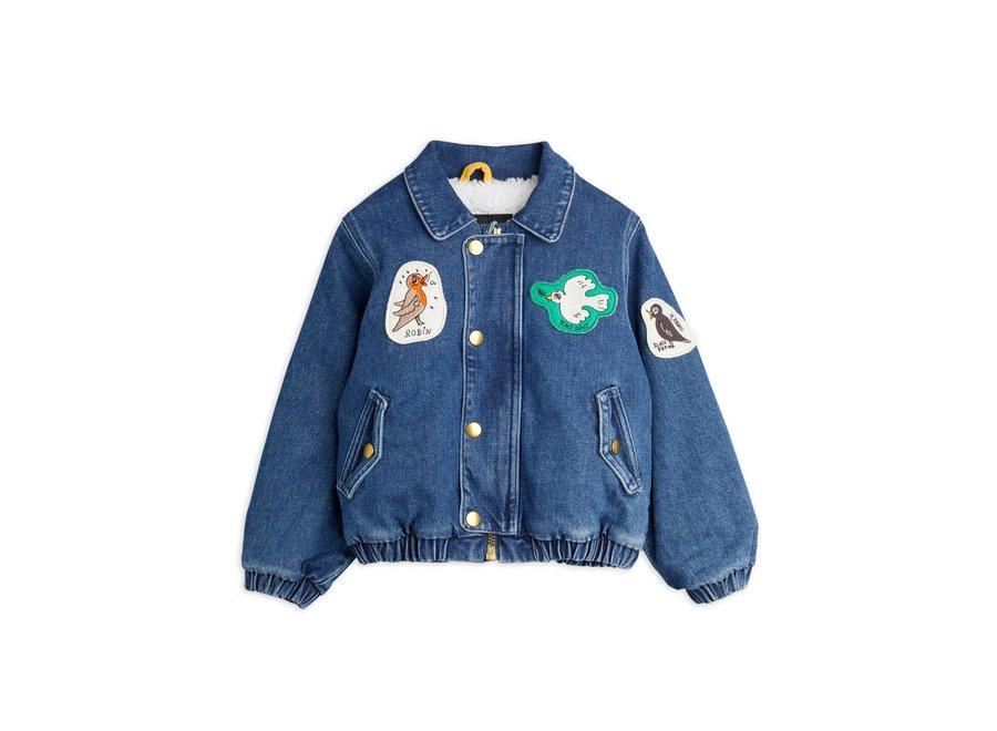 Denim patch jacket