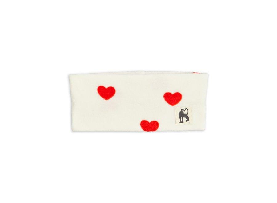 Hearts fleece tube