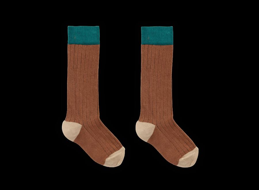 Socks Colorblock Auburn