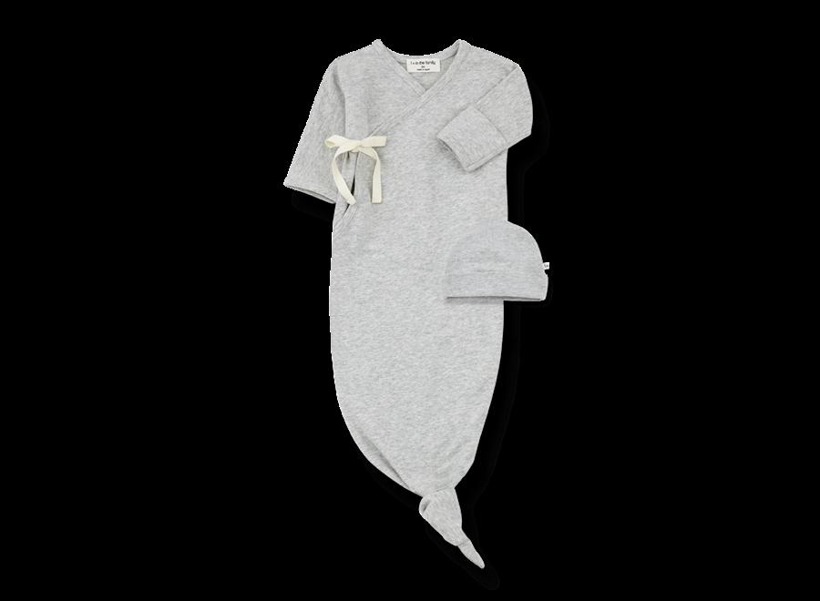 Clothilde newborn set Grey