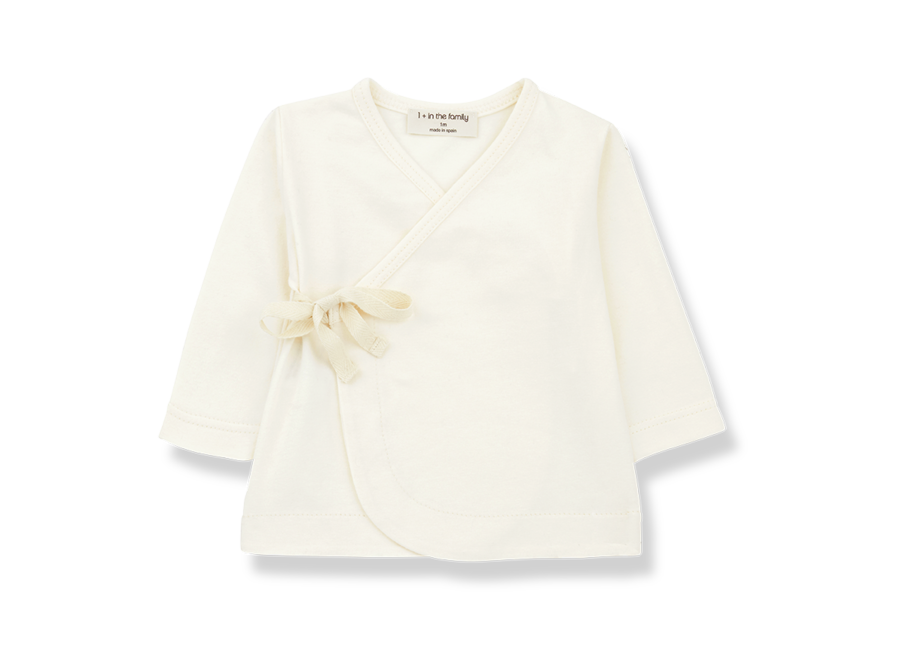 Babette newborn shirt Ecru
