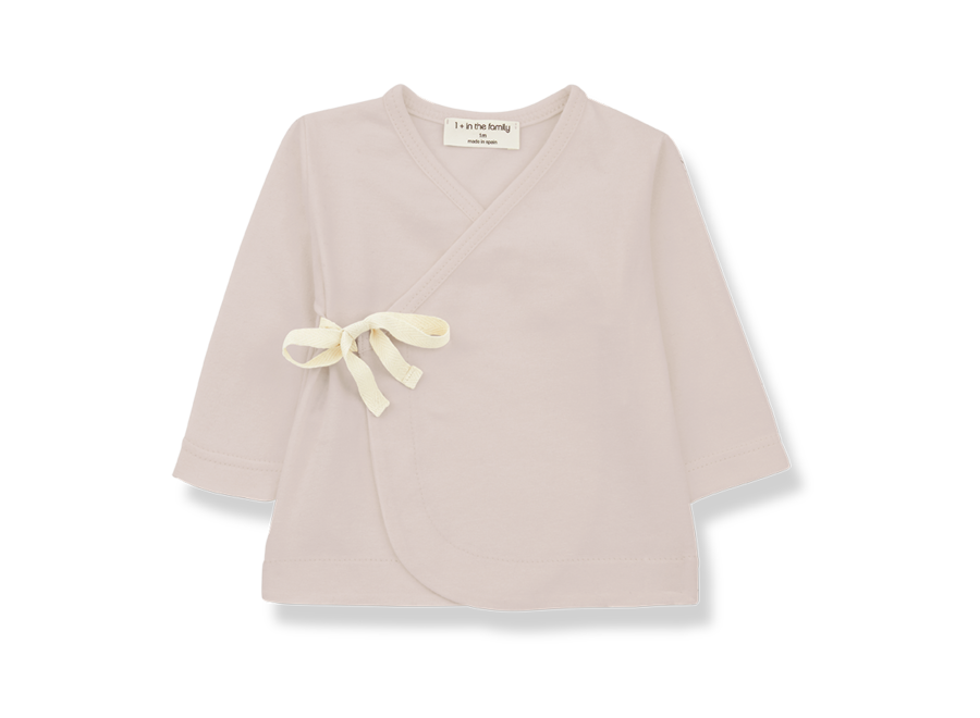 Babette newborn shirt Nude
