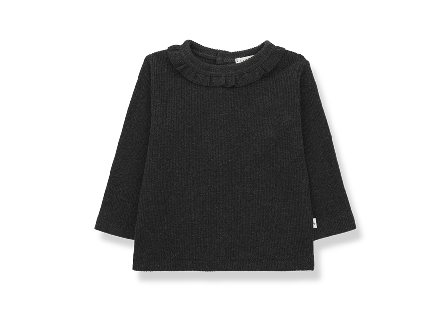 Elia girly t-shirt Charcoal