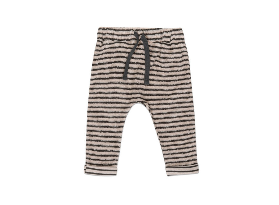 Baby pants loopy stripes