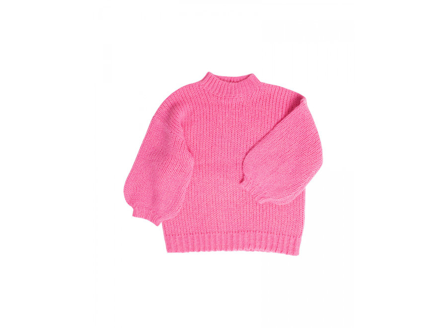 Rosy Ringtail Sweater