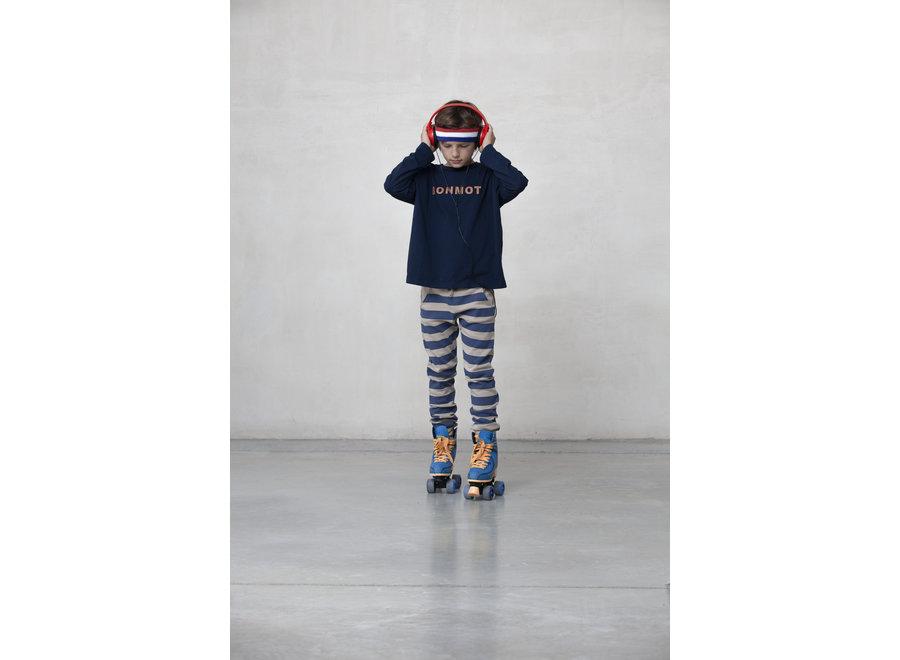 Fleece trouser stripes Fog