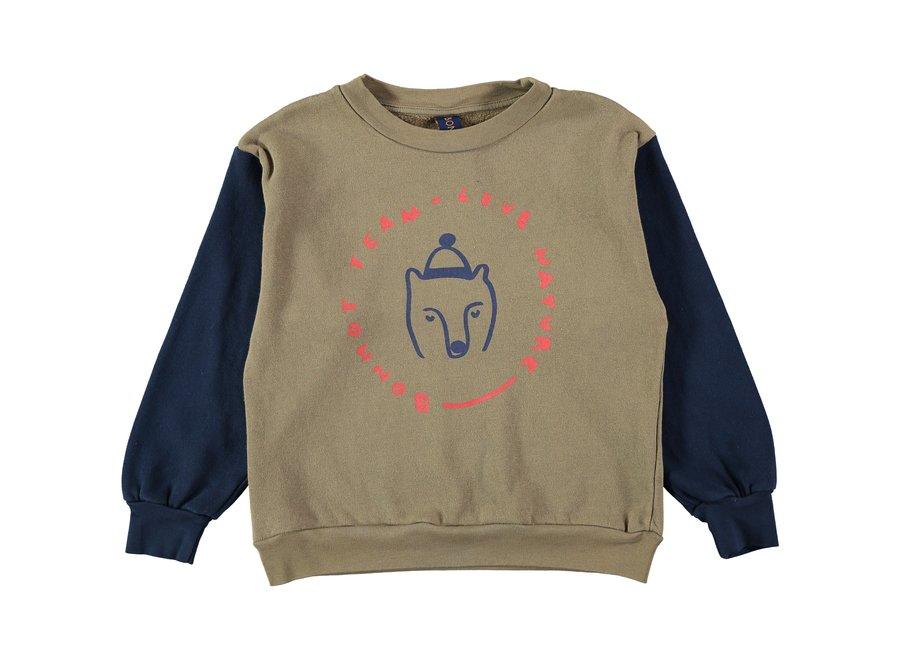 Sweatshirt bear Taupe