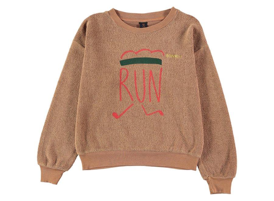 Sweatshirt runner Wood