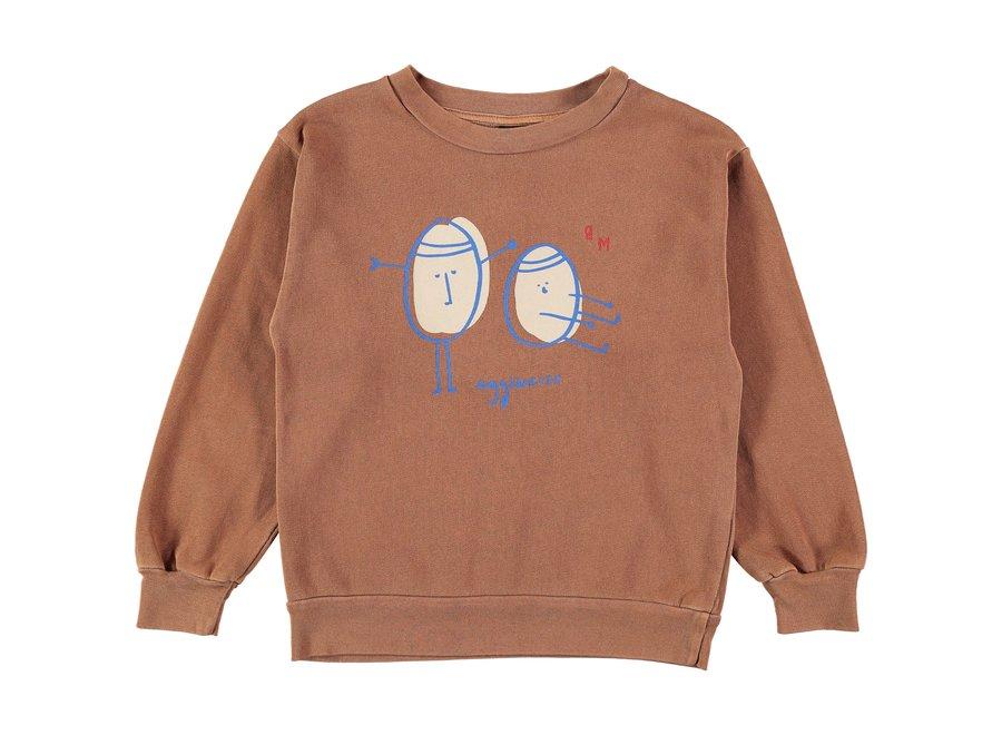 Sweatshirt egg-ercise  Wood