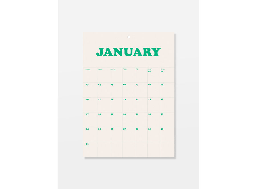 Fun calendar