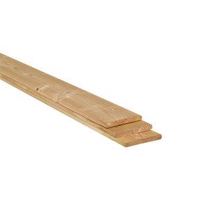 Lariks / Douglas (schutting)plank geschaafd