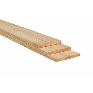 Lariks / Douglas plank fijnbezaagd