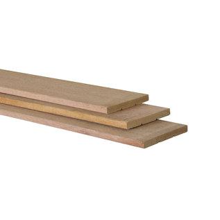 Hardhout (schutting)plank geschaafd