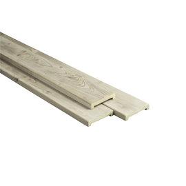 Naaldhout, Celfix afdeklat vlak profiel, sponningsmaat 6,8cm x 0,8cm