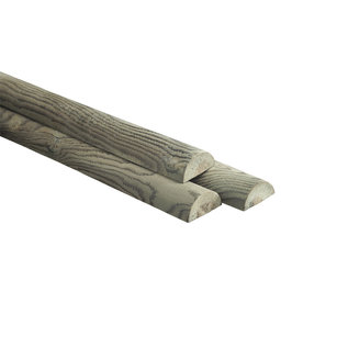 Naaldhout, Celfix (verduurzaamd) halfronde regel, gefreesd