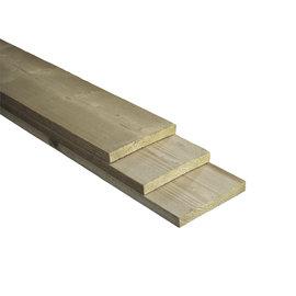 Naaldhout, Celfix plank, bezaagd