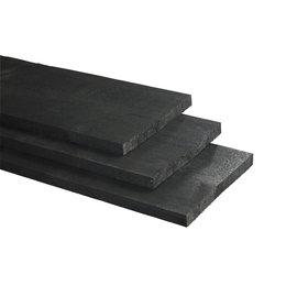 Vuren, Celfix plank, rustiek zwart, fijnbezaagd