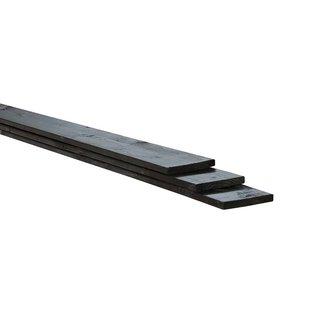 Vuren, Celfix (verduurzaamd) plank, rustiek zwart, geschaafd
