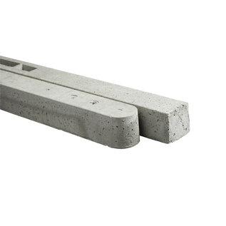 Stampbeton, tussenpaal met zadelkop, grijs
