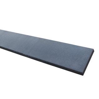 Glad beton, onderplaat dubbel, antraciet