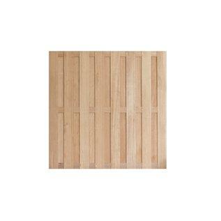 Hardhout (duurzaamheidsklasse 1-2), Paulo rechtscherm, geschaafd