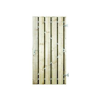Naaldhout, Celfix (verduurzaamd) Hamburg deur met stalen frame, geschaafd