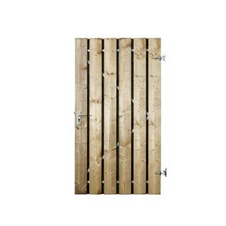 Naaldhout, Celfix (verduurzaamd) Bremen deur met stalen frame, geschaafd