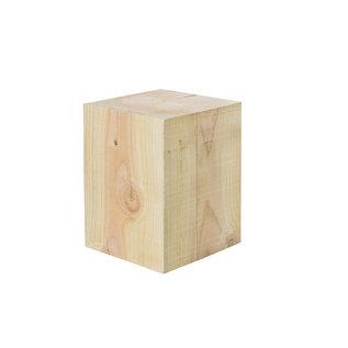 Blokken, Hollands hout/ Lariks Douglas, Bezaagd