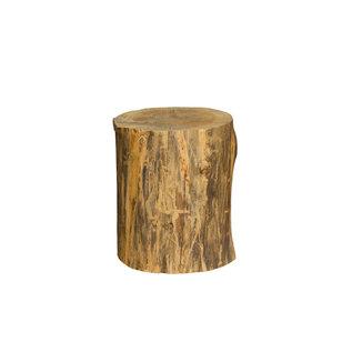 Boomstam met bast, Hollands hout, Eiken/ Beuken