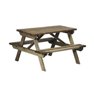 Kinderpicknicktafel Ieniemienie, Naaldhout, Celfix (verduurzaamd)
