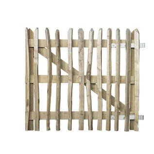 Kastanje poort in combinatie met Eiken